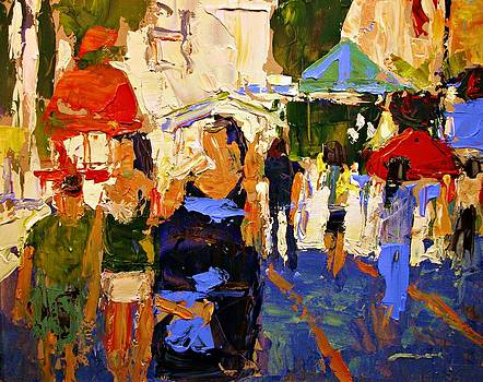 Bastion Square Market by Brian Simons