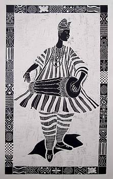 Bata Drummer ll by Okemakinde John abiodun