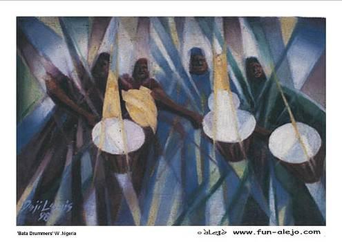 t'alejo- 'Bata Drummers' by Deji Lewis