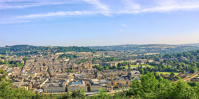 Bath City Centre by Grant Chamberlain