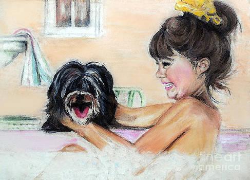 Bath Time by Melanie Alcantara Correia