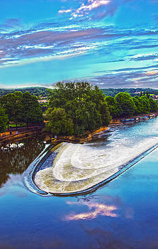 Bath - Weir on Avon by Nick Field