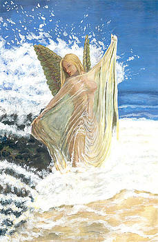 Bathing Angel by Anneke Hut