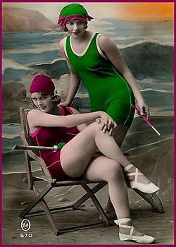 Denise Beverly - Bathing Beauties in Vintage Bathing Suits