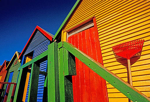 Dennis Cox WorldViews - Bathing boxes