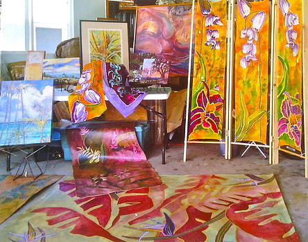 Batiks and Floor Coverings by Diane Renchler