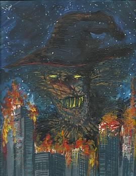 Batman/Scarecrow 01 by Simon Drohen