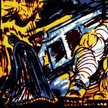 #batman #thebatman #art #brucewayne by Chase Alexander