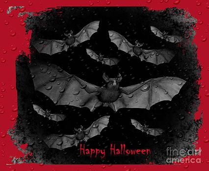 Eva Thomas - Bats Happy Halloween
