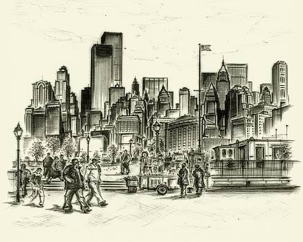 Art America Gallery Peter Potter - New York Battery Park 1972