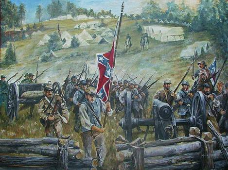 Battle of Chancellorsville by Richard Klingbeil