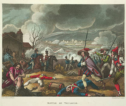 Battle Of Toulouse by British Library