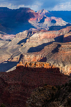 Battleship Rock at the Grand Canyon by Ed Gleichman