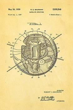 Ian Monk - Baumann Satellite Patent Art 1958
