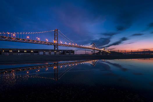 Bay Bridge in San Francisco by Jianghui Zhang