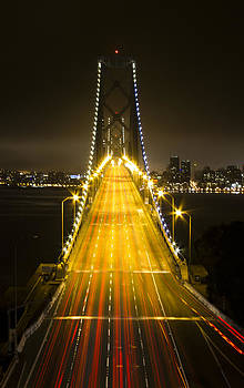 Bay Bridge Traffic by Bryant Coffey