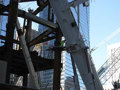 Bay Crane - World Trade Center NYC 2012 by Paul Thomas