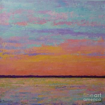 Bay Sunset by Gail Kent