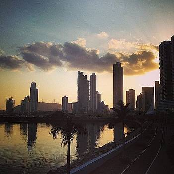 Bayfront Sunset  #panamacity #sunset by Khamid B