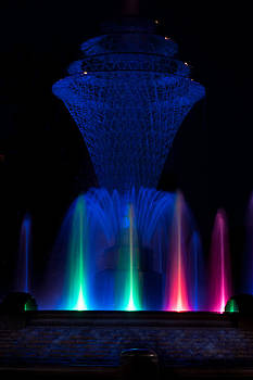 Bayliss Park Fountain by Becky Meyer