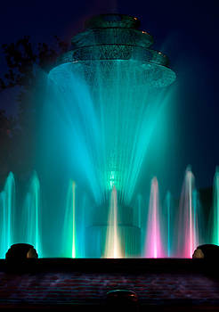 Bayliss Park Fountain Turquiose by Becky Meyer