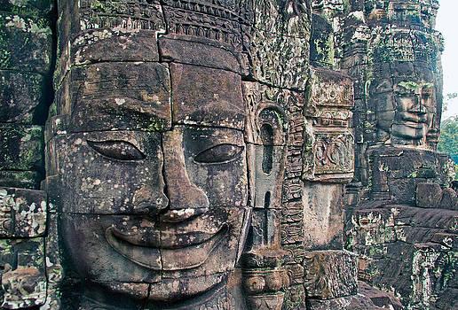 Dennis Cox - Bayon Temple ruins