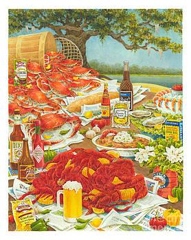Bayou Banquet II by Joyce Hensley