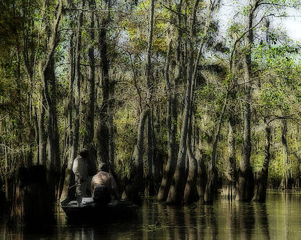Bayou Fishing by Katie Abrams