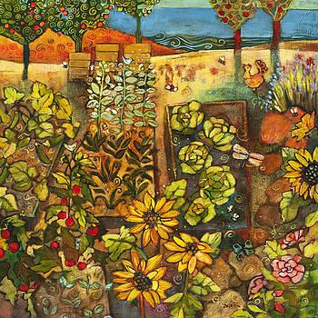 Backyard Organic Garden by Jen Norton