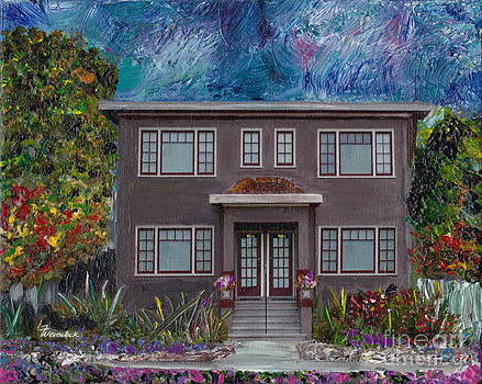 Alameda BayView 1926 - Colonial Revival by Linda Weinstock