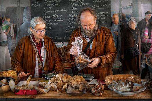 Mike Savad - Bazaar - We sell fresh mushrooms