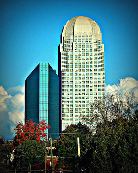 BBandT and Wells Fargo Center Downtown Winston Salem  NC by Jessica  st Lewis