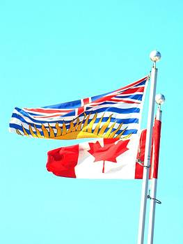 Nicki Bennett - BC Canada Flags