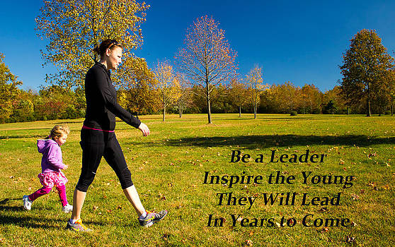 Be a Leader by  Tina McGinley