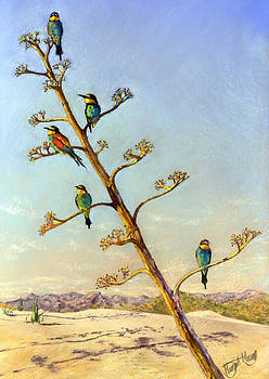 Bee Eaters by Margaret Merry