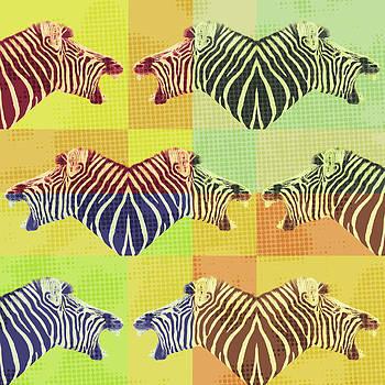 Be heard zebra shouting by Gillian Dernie