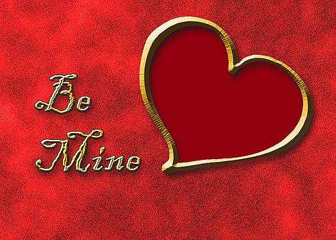Jeanette K - Be Mine Gold Heart