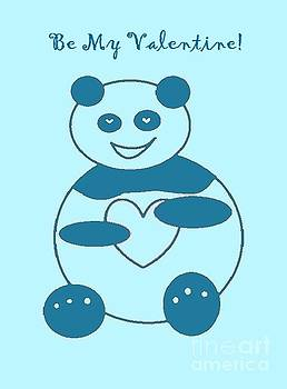 Be My Valentine Panda Boy by Ausra Huntington nee Paulauskaite