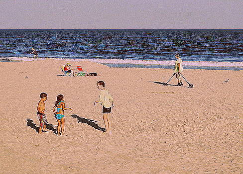 Beach Activities by Mary Beth Landis