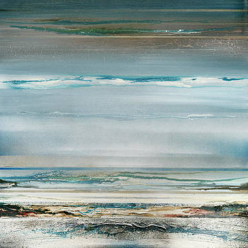 Beach and Driftwood series no1 by Mike   Bell