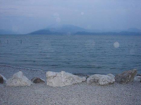 Beach at Lago Garda by Francesco Plazza