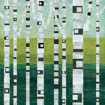 Michelle Calkins - Beach Birches
