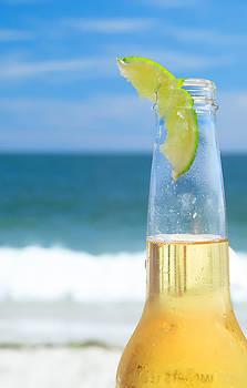 Beach Bottle by I Cale