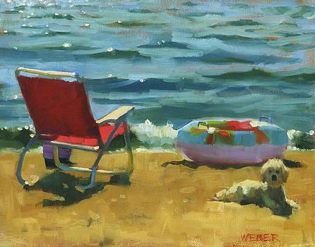 Beach Buddy by Kathleen Weber