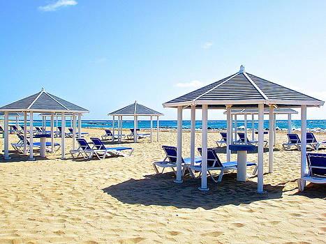 Beach Cabanas by Galexa Ch