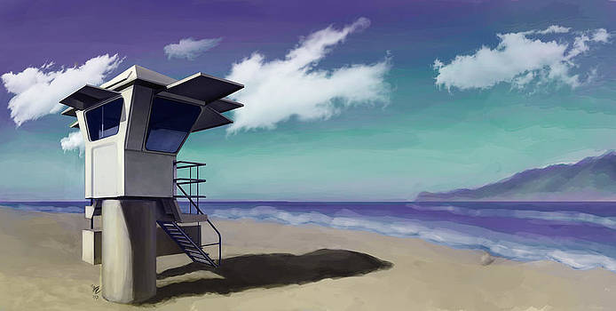 Beach  by Christopher Evans