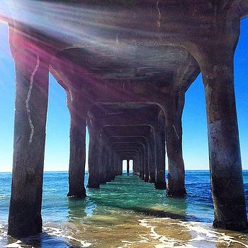 Beach Day. #november #lalife by Samantha Ouellette