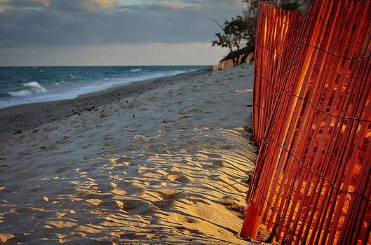 Beach Fence by Laura Fasulo