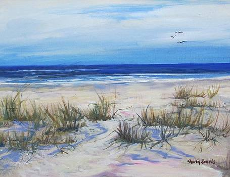 Beach Grasses by Sharon Sorrels