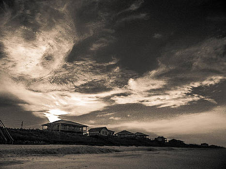Christy Usilton - Beach Houses at Sunset